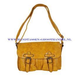 N35 Handtas Mandoline md-7151 geel