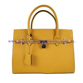 N76 Handtas Flora & Co 6513 moutarde (geel)