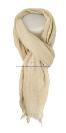 N7 sjaal 19215 beige