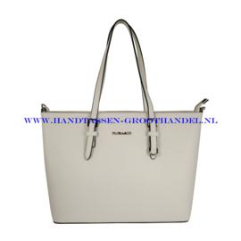 N39 Handtas Flora & Co 9126 wit