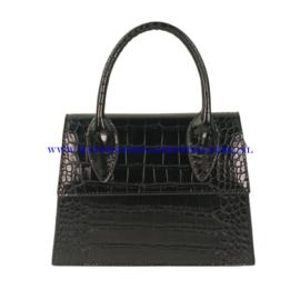 N32 Handtas Flora & Co 8050 zwart