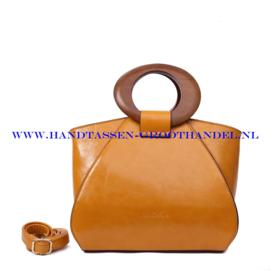 N73 Handtas Ines Delaure 1682209 saffran (geel)