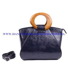 N73 Handtas Ines Delaure 1682209 nuit (blauw)