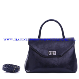N103 Handtas Qischa 1681457a nuit (blauw)