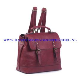 N38 Handtas Ines Delaure 1681652 bordeaux
