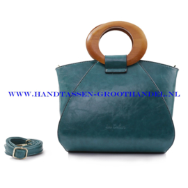 N73 Handtas Ines Delaure 1682209 emeraude (groen)