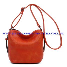 N27 Handtas Ines Delaure 1682059 fauve (oranje)