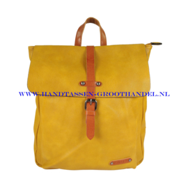 N38 Handtas Flora & Co 6725 moutarde (geel)