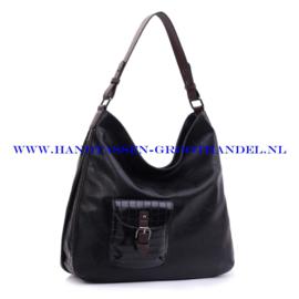 N107 Handtas Ines Delaure 1682157 zwart