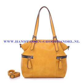 N73 Handtas Ines Delaure 1682367 geel