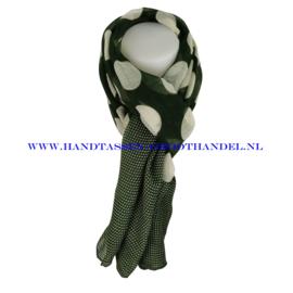 N5 sjaal ENEC-821 groen