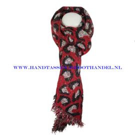N15 sjaal ENEC-893 rood