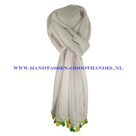 N113 sjaal ENEC-320 wit