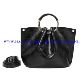 N73 Handtas Ines Delaure 1682642 zwart