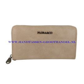 N20 portemonnee Flora & Co h1689 beige taupe