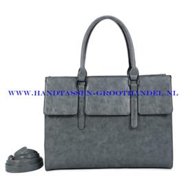 N41 Handtas Ines Delaure 1682781 gris sauge (grijs)