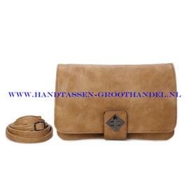 N37 Handtas Qischa 1682575 iced coffee (bruin)