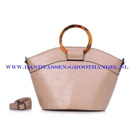 N40 Handtas Ines Delaure 1682355 beige