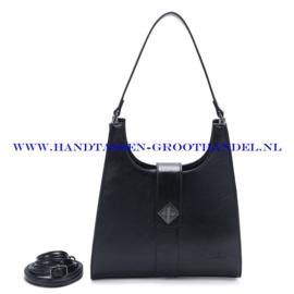 N72 Handtas Ines Delaure 1682517 zwart