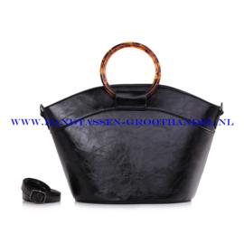 N40 Handtas Ines Delaure 1682355 zwart