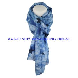 N7 Sjaal 7034 blauw