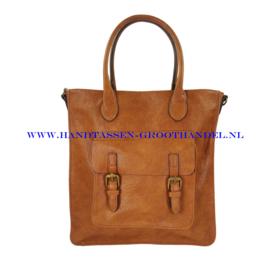 N39 Handtas Flora & Co h2506 camel