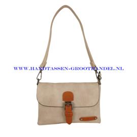N23 Handtas Flora & Co h6756 beige taupe