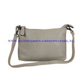 N12 Handtas Flora & Co 9157 gris claire (grijs)
