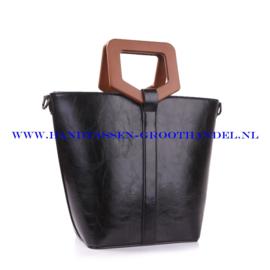 N73 Handtas Ines Delaure 1682182 zwart