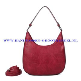N117 Handtas Ines Delaure 1682789 framboise (rood)
