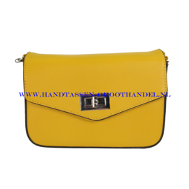 N33 Handtas Flora & Co 6529 moutarde (geel)