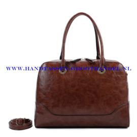 N73 Handtas Ines Delaure 1682457 choc (bruin)
