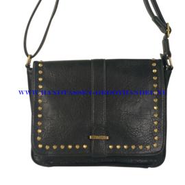 N35 Handtas Flora & Co 7155 zwart