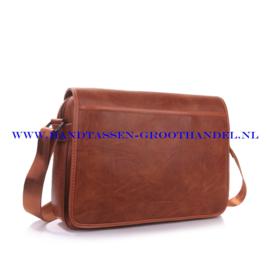 N41 Men bag Blue Smith H163 camel - bruin