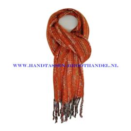 N101 sjaal ENEC-843 oranje