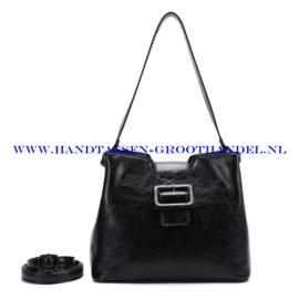 N72 Handtas Ines Delaure 1682541 zwart