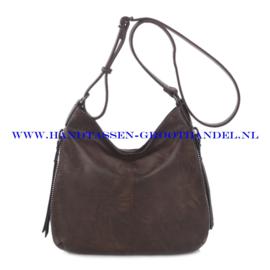 N72 Handtas Ines Delaure 1681669 marron (donker bruin)