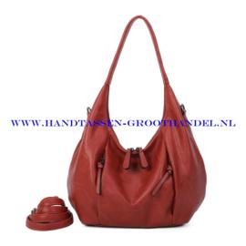 N71 Handtas Ines Delaure 1682799 brique (camel - rood)