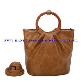 N73 Handtas Ines Delaure 1682617 moutarde (camel - mosterd)
