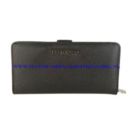 N24 portemonnee Flora & Co k1699 zwart
