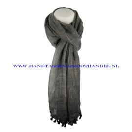 N113 sjaal ENEC-320 zwart