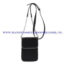 N21 Handtas Ines Delaure 16822592 zwart