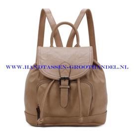N34 Handtas-rugzak Ines Delaure 168485 creme (beige)