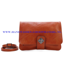 N37 Handtas Qischa 1682575 fauve (bruin - oranje)
