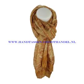 N5 sjaal ENEC-814 kaki (camel)