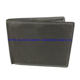 N24 portemonnee Qischa w29045 zwart