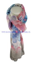 N5 sjaal enec-1036 grijs