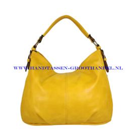 N72 Handtas Flora & Co 7904 moutarde (geel)