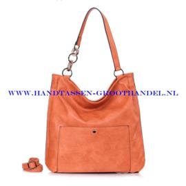 N73 Handtas Ines Delaure 1682392 oranje (pastel oranje)