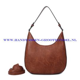 N117 Handtas Ines Delaure 1682789 camel